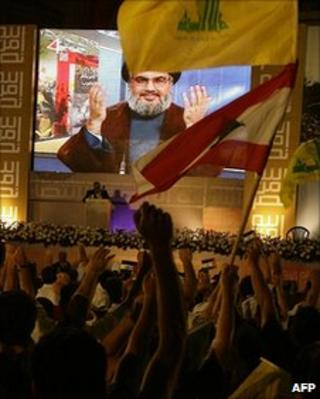 Sheikh Hassan Nasrallah speaks via video link 3.8.10