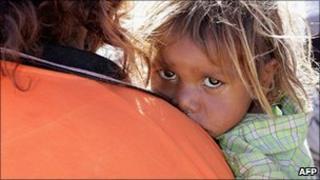 Aboriginal child in Australia