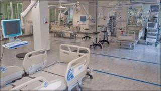 The new cancer critical care unit at the Royal Marsden