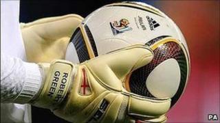 A Jabulani football designed by Adidas