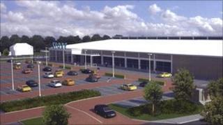 Image of supermarket plan