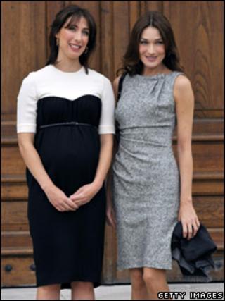 Samantha Cameron and Carla Bruni