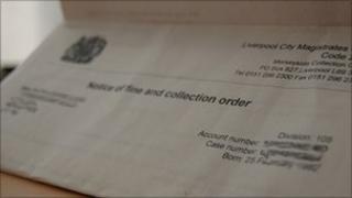 Court fine order