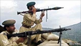 Pakistan Frontier Corps paramilitaries