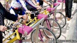 Blackpool bike hire