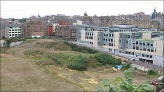 The Caltongate site
