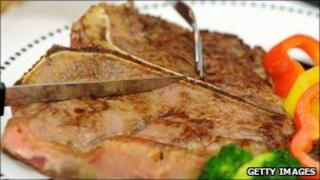 US T-bone steak
