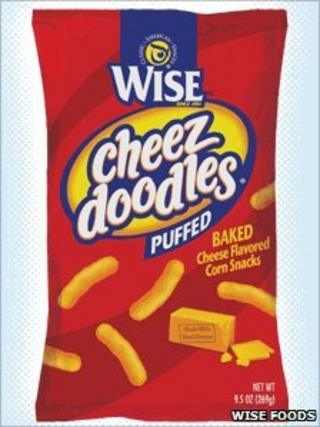 Cheez Doodles (image: Wise Foods website)