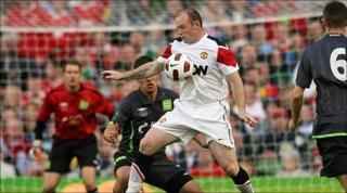 Wayne Rooney in Aviva Stadium game