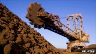 Rio Tinto iron ore mine in Western Australia