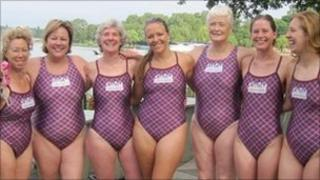 London club swimmers