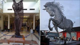 Greenock sculptures