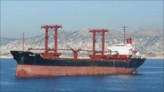 The MV Syria Star (image: Navfor website)