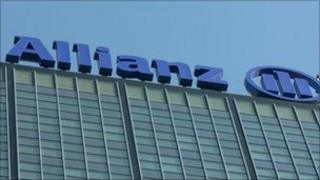 Allianz HQ building in Berlin