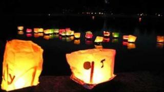 Lanterns on the Lake, at Coate Water