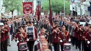 Apprentice Boys march in Derry