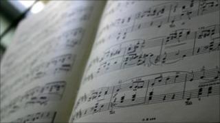Sheet music (generic)