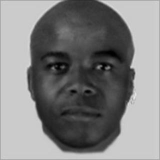 Computer-generated image of attacker