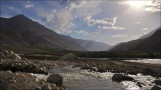 A view of the Wakhan Corridor