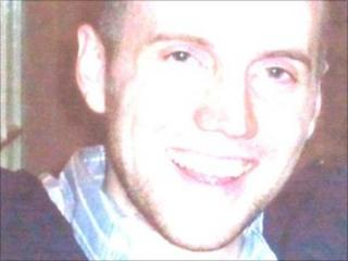 Patrick Cody, a best man who went missing after a lake swim at a wedding reception in Shropshire