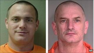 Inmates Tracy Province and John McCluskey