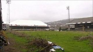 The Vetch in Swansea, pictured in 2009