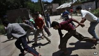 Protests in Indian administered Kashmir