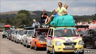 Mongol Rally sets off from the UK on 24 July 2010