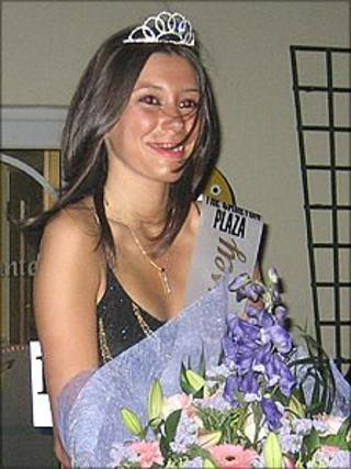 Natalie Thoumine, Miss Guernsey 2008
