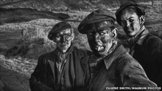 Eugene Smith's Three Generations of Miners photograph, a print acquired by National Museum Wales