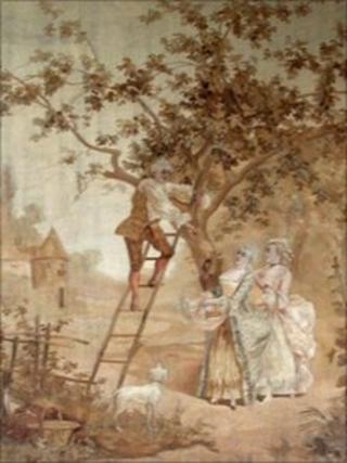Stolen Doxford House tapestry