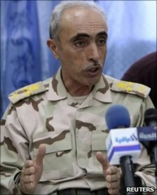 Iraq's army chief Babaker Zebari