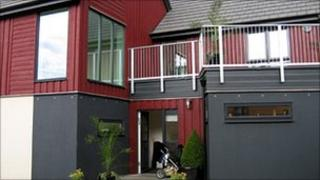Tulloch-built Modular House at Scotland's Housing Expo