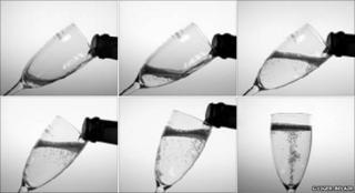 Champagne being poured (Image: Gerard Liger-Belair)