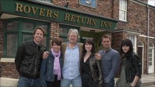 Cast of Corrie!