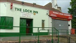 Loch Inn and Yong Hua Garden takeaway