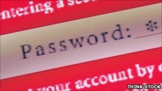 Password field, THINK STOCK