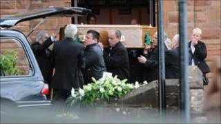 Barry Bradley funeral