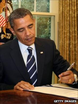 President Obama signs border security bill