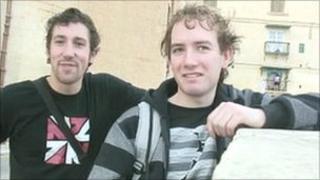 David Delia, 21, and Max Evenbly