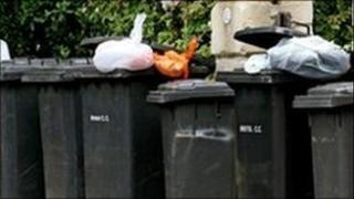 Council rubbish bins