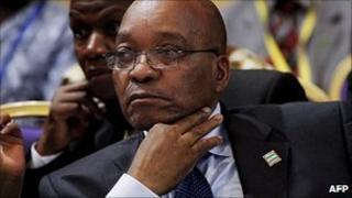 President Jacob Zuma (file image)