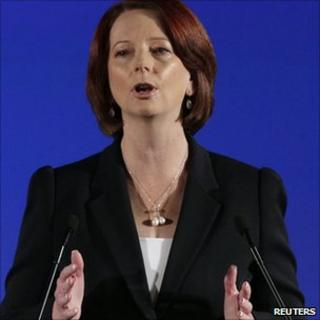 Julia Gillard launches Labor campaign in Brisbane