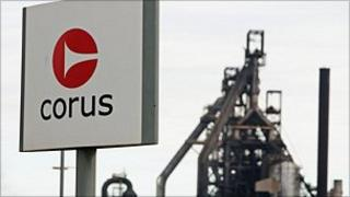 Corus in Port Talbot