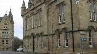 Tain Sheriff Court. Pic: Crown copyright