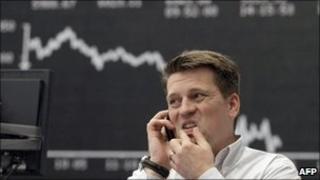 German trader (file photo)