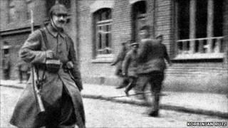 Image said to show Hitler in 1915 [Pic: Korbinian Rutz]