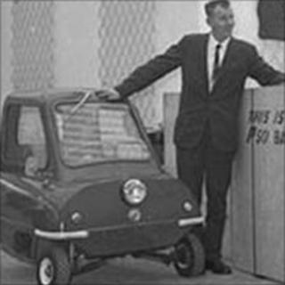 Peel P50 (photo courtesy of Isle of Man government)