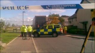 The scene at Gullane (pic: Brian Innes)