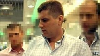 Romanian diplomat Gabriel Grecu, accused by Russia of spying